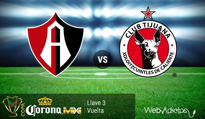 Atlas vs Tijuana, Llave 3 de la Copa MX Clausura 2016 - atlas-vs-tijuana-en-la-copa-mx-clausura-2016
