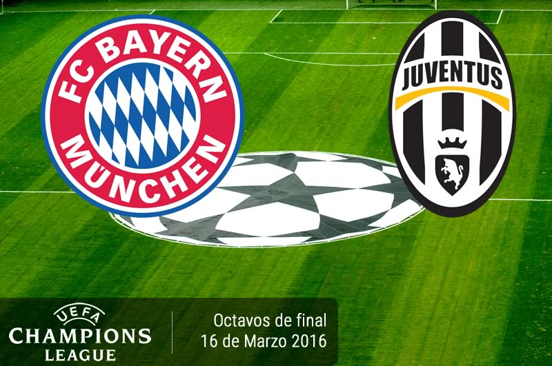 Bayern vs Juventus, Octavos de Champions 2016   Resultado: 4 - 2 - bayern-munich-vs-juventus-en-champions-league-2015-2016