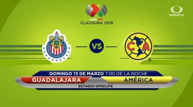 Chivas vs América, el clásico en el Clausura 2016   Jornada 10 - chivas-vs-america-en-internet-clausura-2016