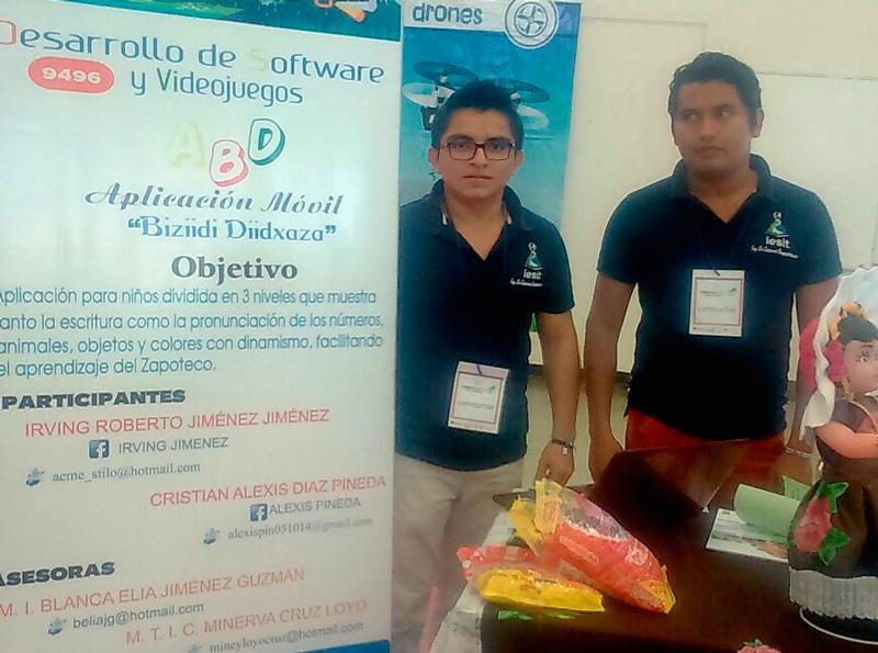 Jóvenes emprendedores crean app para aprender zapoteco - cristian-alexis-diaz-pineda-y-irving-roberto-jimenez-jimenez-medalla-de-oro