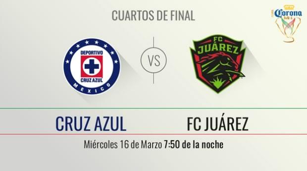 Cruz Azul vs Juárez, Copa MX Clausura 2016 | Resultado: 3 - 0 - cruz-azul-vs-juarez-por-televisa-deportes-en-copa-mx-clausura-2016