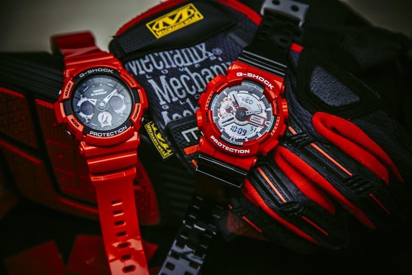 Nueva colección de relojes G-SHOCK que eleva los estándares de resistencia - g-shock-solid-red