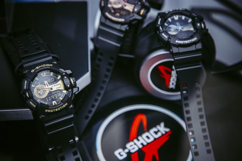 Nueva colección de relojes G-SHOCK que eleva los estándares de resistencia - garish-black-gold