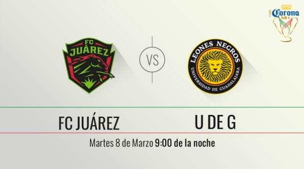 Juárez vs UDG, Llave 3 de Copa MX Clausura 2016   Vuelta - juarez-vs-leones-negros-udg-por-televisa-deportes-en-internet-copa-mx-c2016
