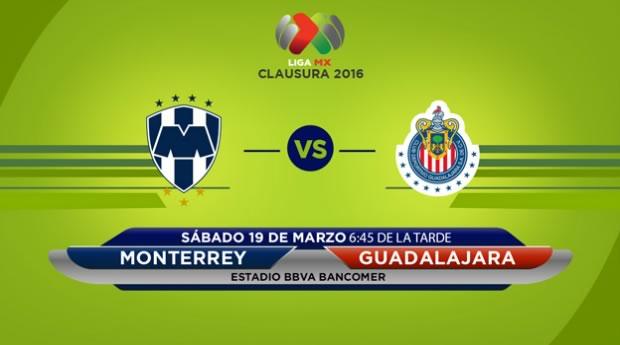 Monterrey vs Chivas, Jornada 11 del Clausura 2016   Resultado: 1-3 - monterrey-vs-chivas-por-televisa-deportes-en-el-clausura-2016