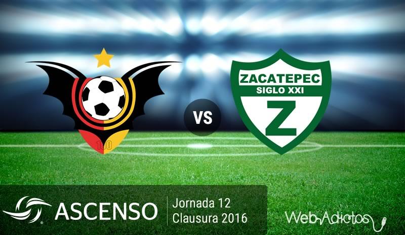 Murciélagos vs Zacatepec, Ascenso MX Clausura 2016 | Resultado: 2-1 - murcielagos-vs-zacatepec-ascenso-mx-clausura-2016