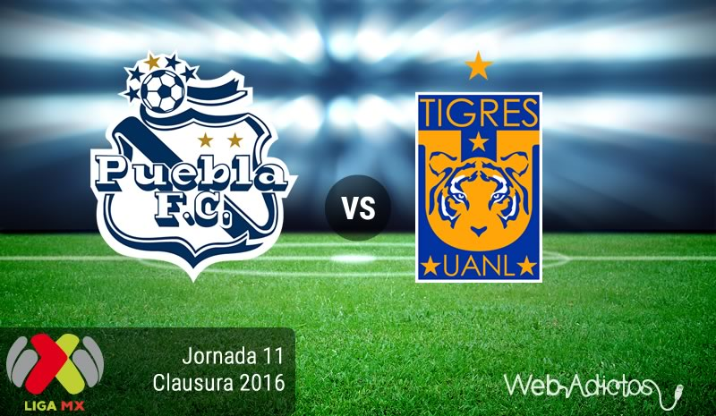 Puebla vs Tigres, Jornada 11 del Clausura 2016 | Resultado: 0-0 - puebla-vs-tigres-en-la-jornada-11-del-clausura-2016