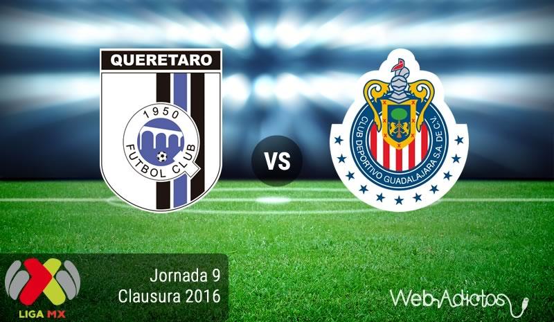 Querétaro vs Chivas, Jornada 9 del Clausura 2016   Liga MX - queretaro-vs-chivas-en-la-jornada-9-del-clausura-2016