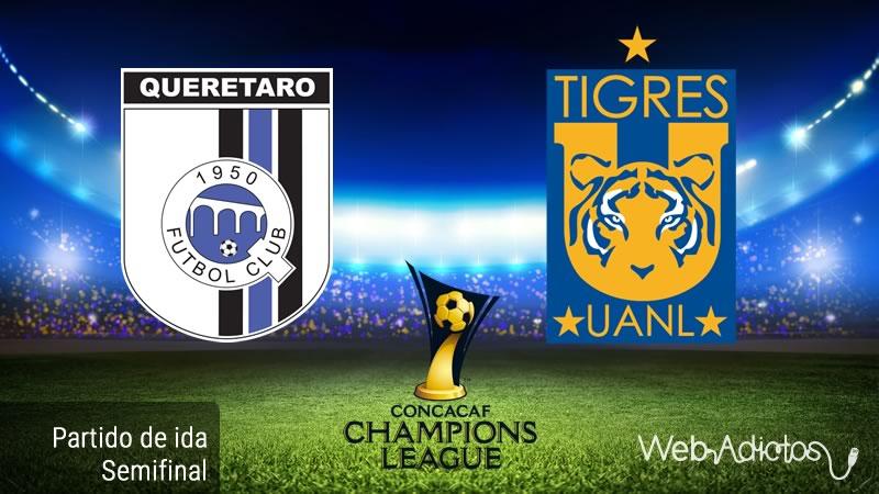 Querétaro vs Tigres, Semifinal de Concachampions 2016 | Resultado: 0 - 0 - queretaro-vs-tigres-en-concachampions-2016