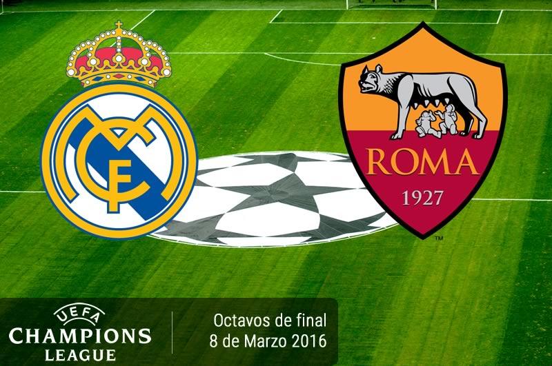 Real Madrid vs Roma, Champions League 2016 | Partido de vuelta - real-madrid-vs-roma-champions-league-2015-2016
