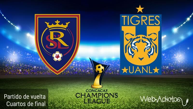 Real Salt Lake vs Tigres, Concachampions 2016 | Partido de vuelta - real-salt-lake-vs-tigres-en-concachampions-2016