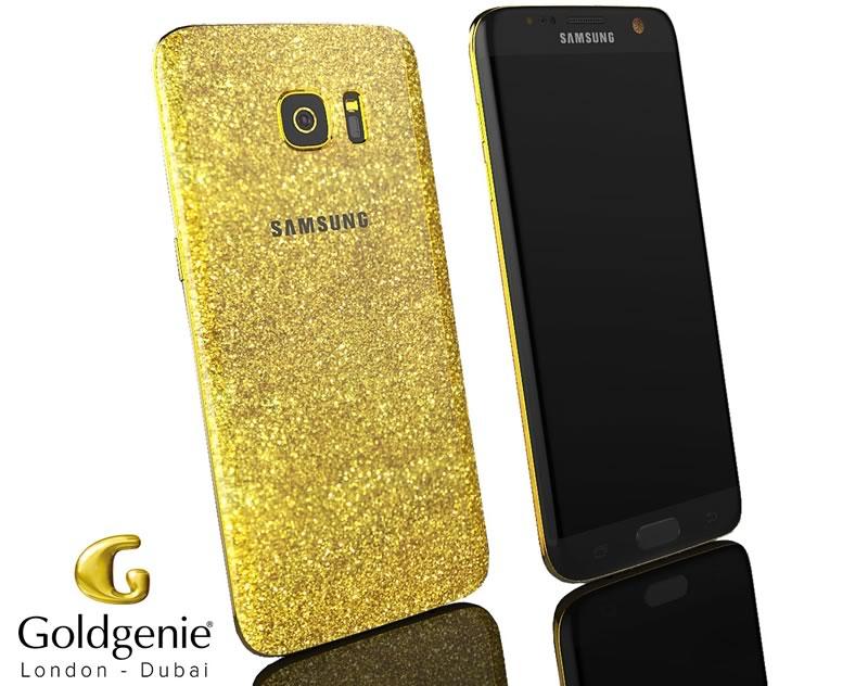 ¿Quieres un Samsung Galaxy S7 de Oro? Goldgenie puede hacerlo para ti - samsung-galaxy-s7-de-oro