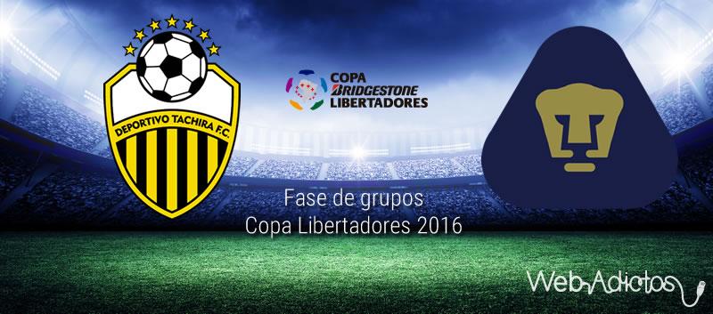 Táchira vs Pumas, Jornada 3 de la Copa Libertadores 2016 - tachira-vs-pumas-en-copa-libertadores-2016