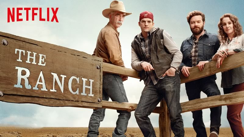 Series de estreno en Netflix durante abril de 2016 - the-ranch-netflix