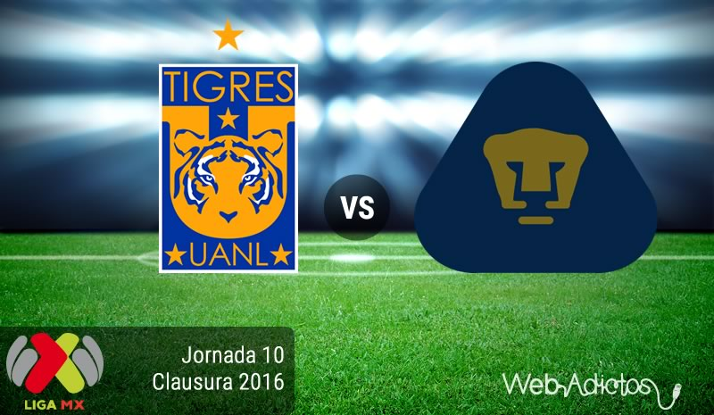 Tigres vs Pumas, Liga MX Torneo Clausura 2016 | Jornada 10 - tigres-vs-pumas-en-la-jornada-10-del-clausura-2016