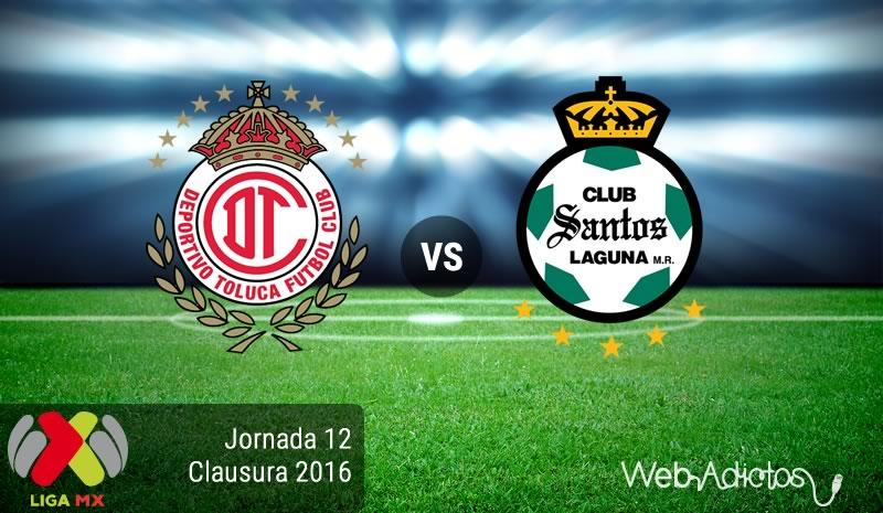 Toluca vs Santos, Jornada 12 del Clausura 2016   Resultado: 0-0 - toluca-vs-santos-jornada-12-del-clausura-2016