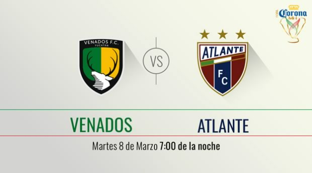 Venados vs Atlante, Jornada 6 de Copa MX Clausura 2016 - venados-vs-atlante-en-vivo-en-la-copa-mx-clausura-2016-por-televisa-deportes
