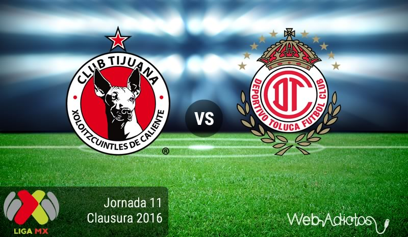 Tijuana vs Toluca, Jornada 11 del Clausura 2016   Resultado: 0-0 - xolos-de-tijuana-vs-toluca-en-la-jornada-11-del-clausura-2016