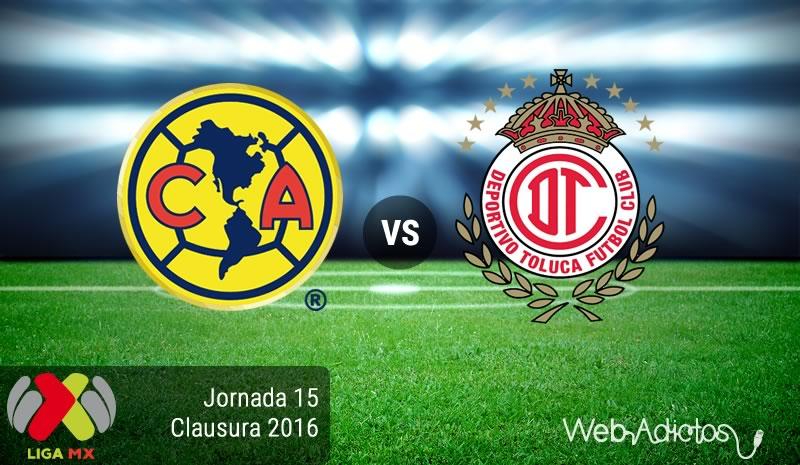 América vs Toluca, Jornada 15 Clausura 2016 | Resultado: 0-1 - america-vs-toluca-jornada-15-del-clausura-2016