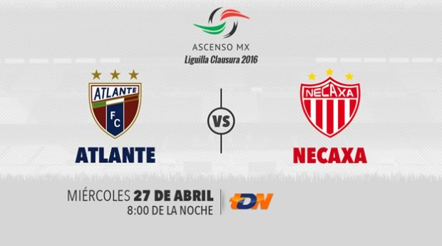 Atlante vs Necaxa, Semifinal del Ascenso MX C2016 | Resultado: 1-2 - atlante-vs-necaxa-semifinal-ascenso-mx-c2016-tdn