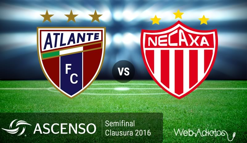 Atlante vs Necaxa, Semifinal del Ascenso MX C2016 | Resultado: 1-2 - atlante-vs-necaxa-semifinal-ascenso-mx-clausura-2016