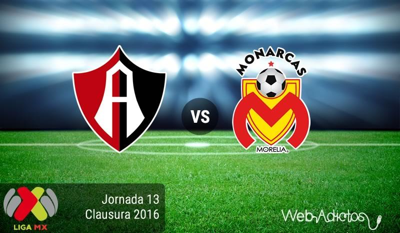 Atlas vs Morelia, Fecha 13 del Clausura 2016 | Resultado: 1-2 - atlas-vs-morelia-jornada-13-del-clausura-2016