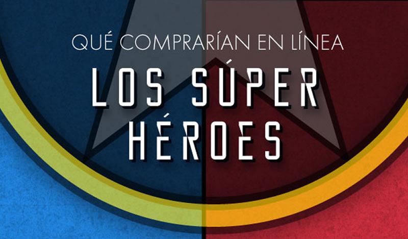 Qué comprarían en línea los súper héroes - civil-war-infografia-linio
