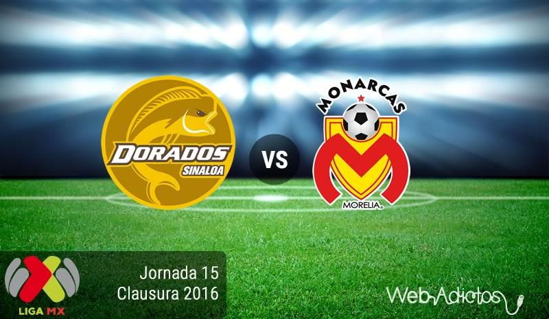 Dorados vs Morelia, Jornada 15 del Clausura 2016 | Resultado: 1-0 - dorados-vs-morelia-jornada-15-del-clausura-2016
