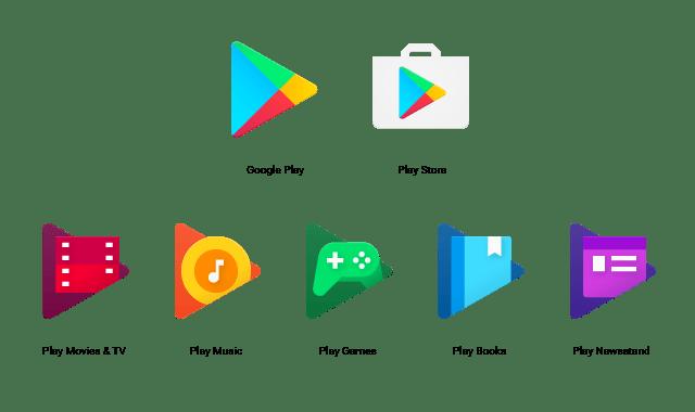 Iconos de Google Play reciben una nueva imagen. - image