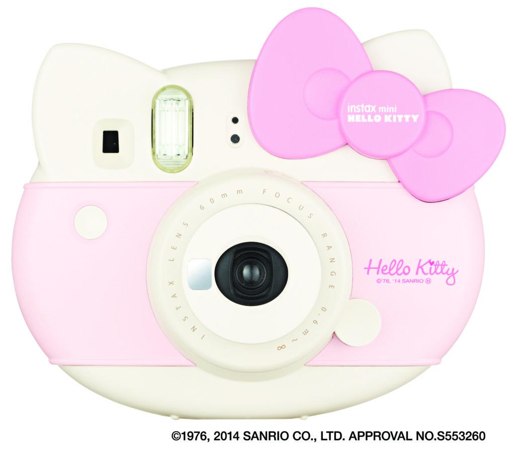 instax mini hello kitty 1 Lanzan nuevas cámaras Instax de FUJIFILM: Mini Hello Kitty y Mini 70