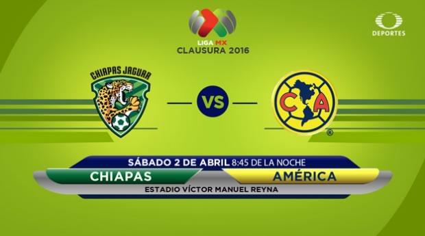 Jaguares vs América en el Torneo Clausura 2016 | Resultado: 0-2 - jaguares-vs-america-por-tdn-clausura-2016