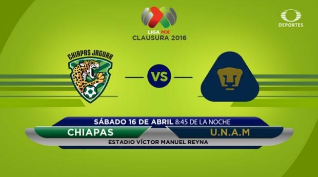Jaguares vs Pumas, J14 del Clausura 2016 | Resultado: 1-2 - jaguares-vs-pumas-por-televisa-deportes-clausura-2016