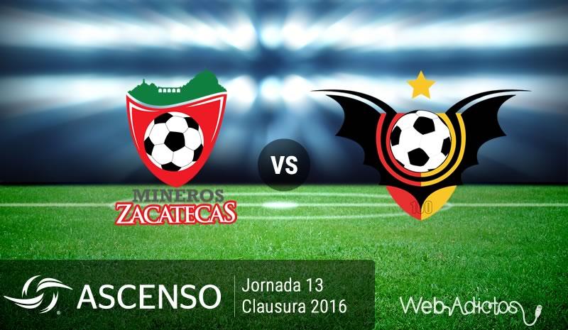 Mineros vs Murciélagos, Ascenso MX Clausura 2016 | Resultado: 3-3 - mineros-vs-murcielagos-ascenso-mx-clausura-2016