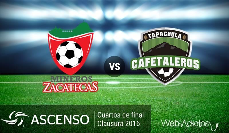 Mineros vs Tapachula, Cuartos de final Ascenso MX - mineros-vs-tapachula-cuartos-de-final-ascenso-mx-clausura-2016
