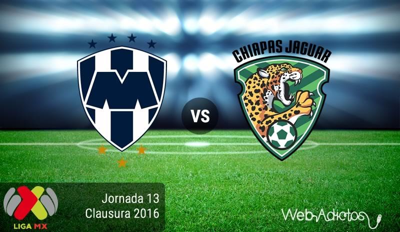 Monterrey vs Jaguares, J13 del Clausura 2016 | Resultado: 6-0 - monterrey-vs-jaguares-jornada-13-del-clausura-2016