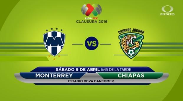 Monterrey vs Jaguares, J13 del Clausura 2016   Resultado: 6-0 - monterrey-vs-jaguares-por-televisa-deportes-en-internet-clausura-2016