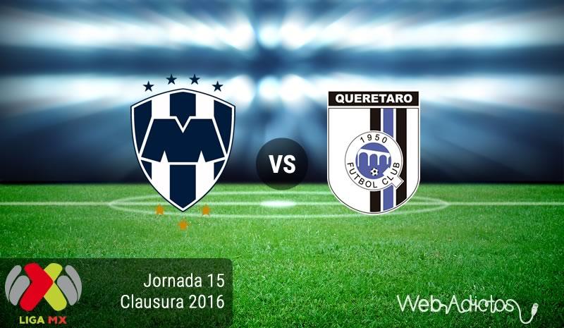 Monterrey vs Querétaro, J15 del Clausura 2016   Resultado: 3-2 - monterrey-vs-queretaro-jornada-15-del-clausura-2016