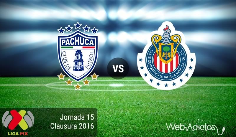 Pachuca vs Chivas, Jornada 15 Clausura 2016 | Resultado: 1-1 - pachuca-vs-chivas-jornada-15-del-clausura-2016