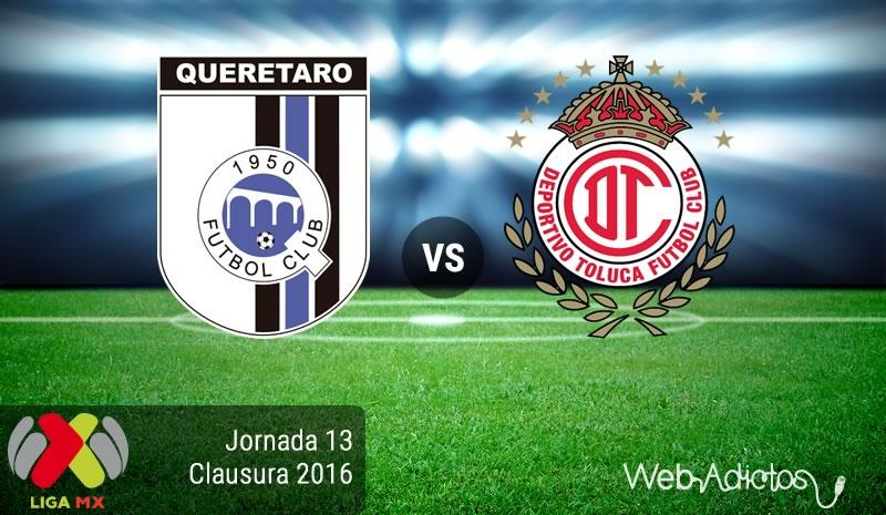 Querétaro vs Toluca, Jornada 13 del Clausura 2016   Resultado: 0-0 - queretaro-vs-toluca-jornada-13-del-clausura-2016