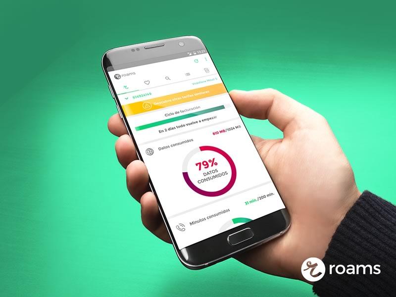 Roams, la app que te ayuda a ahorrar en planes de telefonía - roams-ahorrar-planes-de-telefonia