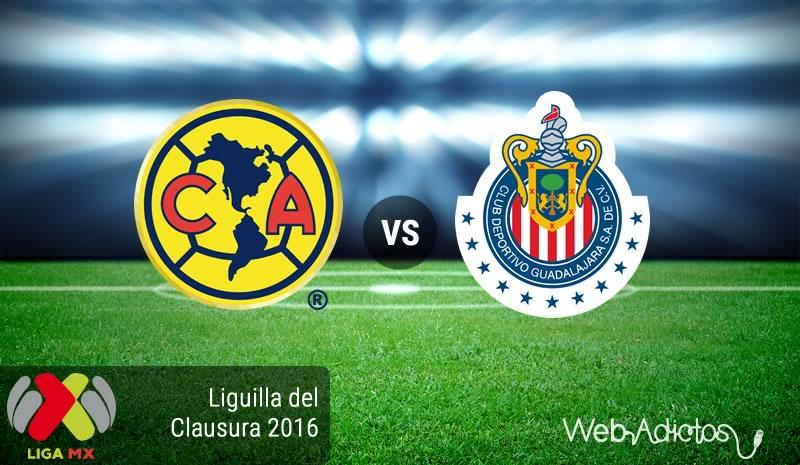 América vs Chivas, Liguilla del Clausura 2016 | Resultado: 2-1 - america-vs-chivas-liguilla-clausura-2016
