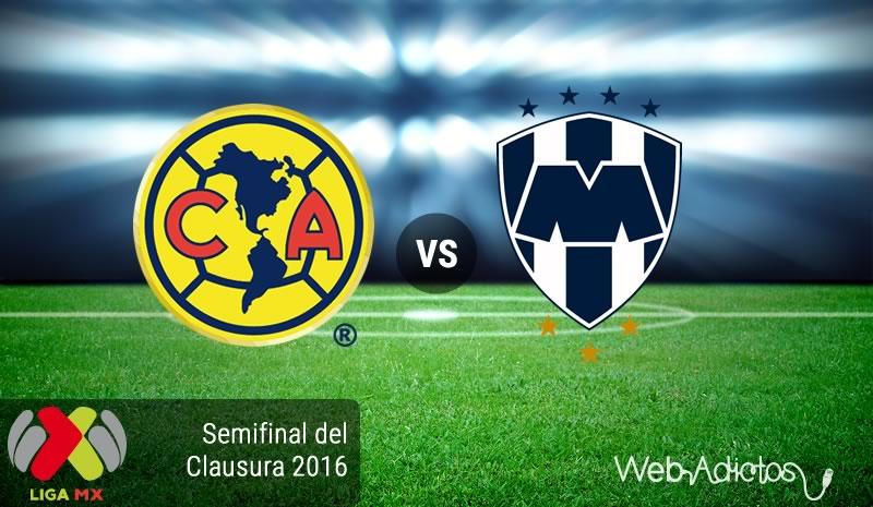 América vs Monterrey, Semifinal ida Clausura 2016   Resultado: 1-0 - america-vs-monterrey-semifinal-clausura-2016