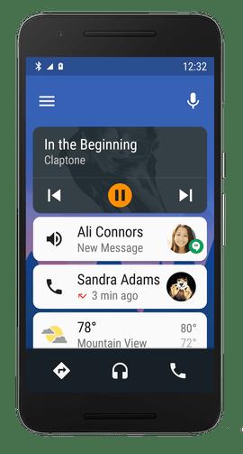 Android Auto podrá ejecutarse directamente en el teléfono - android-auto-phone-app