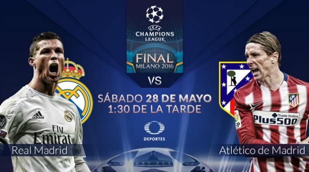 Real Madrid vs Atlético de Madrid, Final Champions 2016 | Resultado: 1-1 - final-champions-2016-real-madrid-vs-atletico-de-madrid