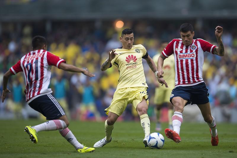 A qué hora juega América vs Chivas y en qué canal | Liguilla del Clausura 2016 - horario-america-vs-chivas-liguilla-clausura-2016