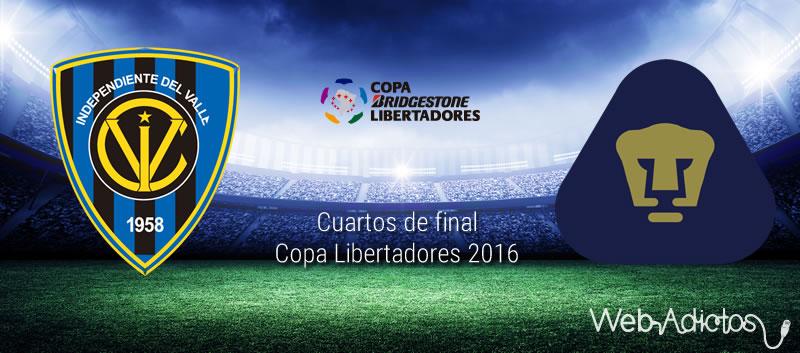 Independiente del Valle vs Pumas, Libertadores 2016 | Resultado: 2-1 - independiente-del-valle-vs-pumas-cuartos-de-final-copa-libertadores-2016