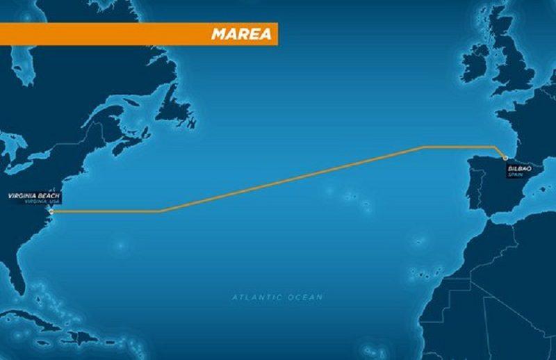"""""""Marea"""", el nuevo cable submarino de Facebook y Microsoft que conectará ambos lados del Atlántico - marea-microsoft-facebook-800x518"""