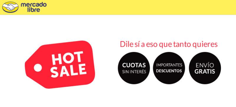 MercadoLibre anuncia sus descuentos para el Hot Sale 2016 - mercado-libre-hotsale-800x364