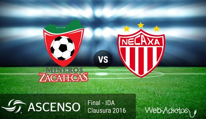Mineros vs Necaxa, Final del Ascenso MX C2016 | Resultado: 0-2 - mineros-vs-necaxa-final-ascenso-mx-clausura-2016