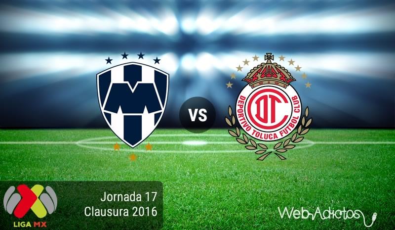Monterrey vs Toluca, Jornada 17 del Clausura 2016   Resultado: 1-2 - monterrey-vs-toluca-jornada-17-del-clausura-2016